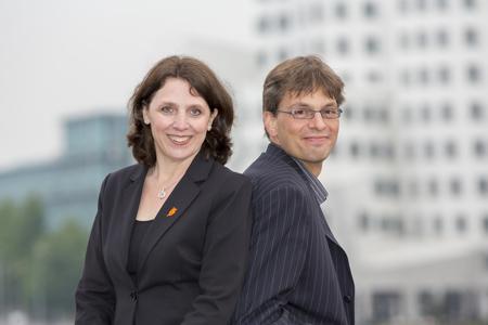 Gerti Thiesen und Tim Staedle